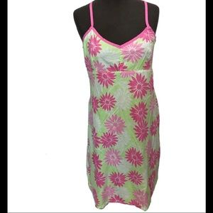 💕💚Lily Pulitzer Sunflower dress size Large